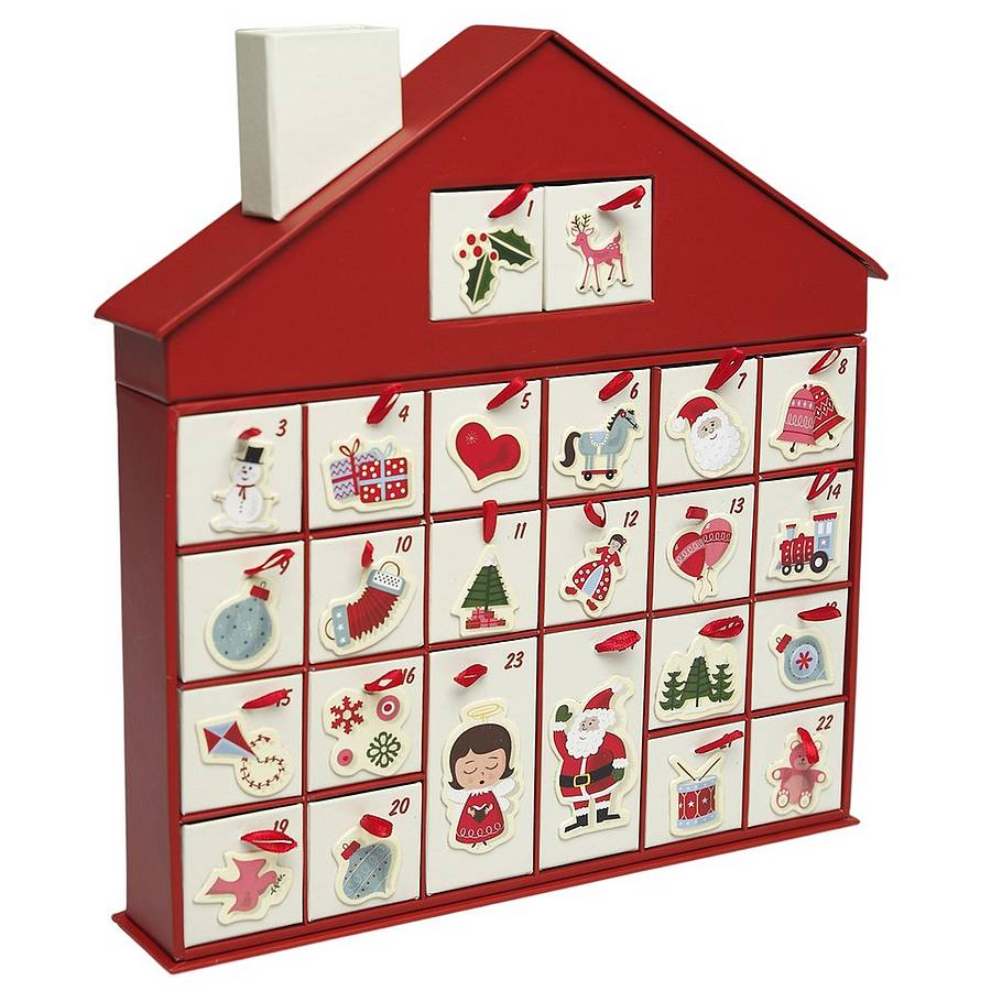 calendar de advent alexandra clark chi u. Black Bedroom Furniture Sets. Home Design Ideas